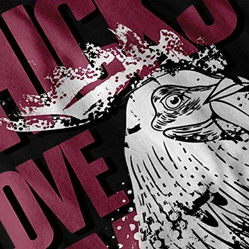 Chicks Liebe Meine Leben Schick Damen Schwarz S-2XL Muskelshirt   Wellcoda Schwarz