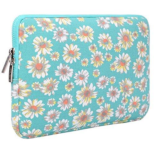 MOSISO - Stile Bohemien Tessuto di Tela Custodia Borsa Involucro Sleeve Case per iPad Air / iPad 4 3 2 / Note tavoletta, Oro Crisantemo