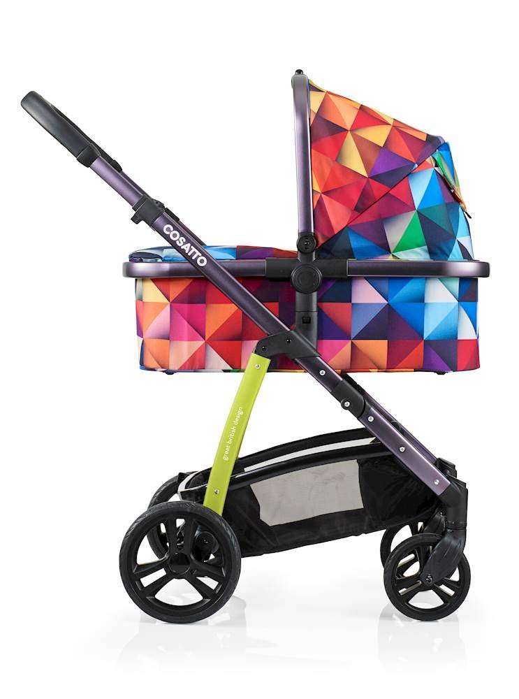 Cosatto Wow Pram and Pushchair, from Birth Carrycot and Pushchair Suitable upto 25 kg, Spectroluxe  Cosatto