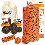 Blackroll Orange (Das Original) DIE Selbstmassagerolle - Komplett-Set PRO mit miniBAG, Übungs-DVD, -Poster und -Booklet