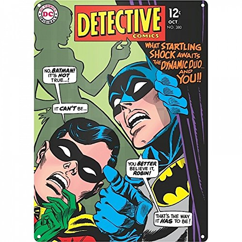 DC Comics - A3 Blechschild - Batman & -