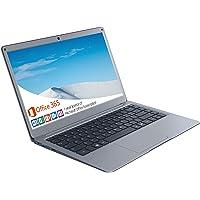 Jumper Laptop Microsoft Office 365 (4 GB DDR3 128 GB eMMC Windows 10 Notebook mit 13,3 Zoll FHD, Intel CPU, Dualband…
