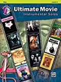 Ultimate Movie Instrumental Solos: Flute, Level 2-3 + CD