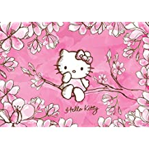 Amazon Fr Papier Peint Hello Kitty