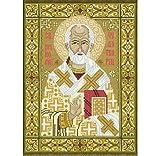 Riolis – Kit de punto de cruz, diseño de San Nicolás, varios colores
