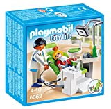 Playmobil- with Patient Dentista con Paciente (66620), Color (6662)