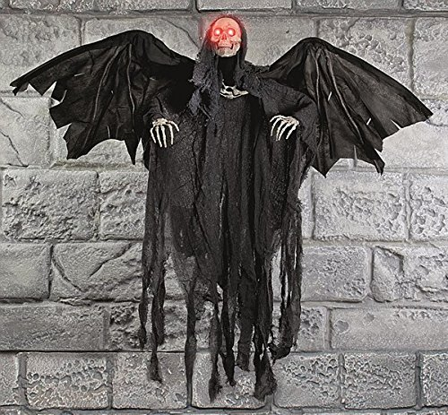 Animated Winged Reaper 92cm