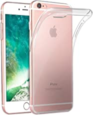 Hülle für iPhone 6S 6,Transparent und Kristallklar-Premium Kratzfest Gelbverfärbung verzögern Weiche Silikon Schutzhülle TPU Bumper Case für iPhone 6/6S