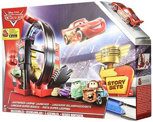 Hot Wheels Cars - Coche, superlooping Lanzador (Mattel DJC57)