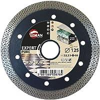 Leman 980125 Disco diamante para porcelánico extra fino (diámetro 125mm)