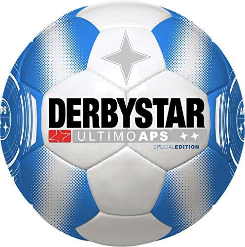 Derbystar Herren Ultimo APS Special Edition Fußball, Weiß/Blau, 5 -
