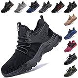 Zapatos De Seguridad para Hombre con Puntera De Acero Mujer Calzado De Trabajo Zapatos De Deportivos Transpirables Construcci