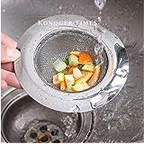 Konquer TimeS Stainless Steel Kitchen Strainer, Sink Jali, Sink Drain Filter Jali, Waste Coupling (11 cm) (1)