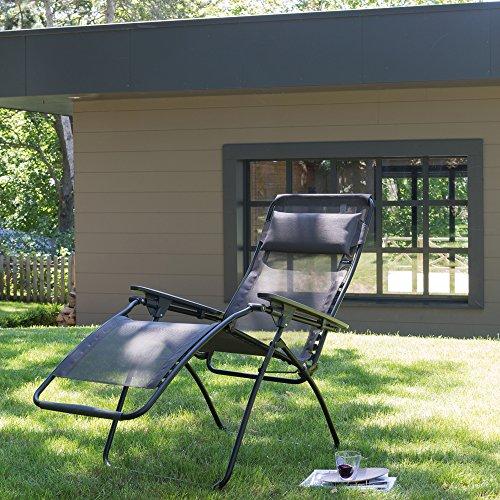 Lafuma Relax-Liegestuhl, Klappbar und verstellbar