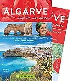 Bruckmann Reiseführer Algarve: Zeit für das Beste. Highlights, Geheimtipps, Wohlfühladressen. Inklusive Faltkarte zum Herausnehmen. NEU 2018 - Rolf Osang
