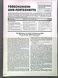Die Bedeutung der Landwirtschaftswissenschaft für die heutige Nahrungsversorgung, in: FORSCHUNGEN UND FORTSCHRITTE, Nr. 16/17, 1. und 10. Juni 1940.