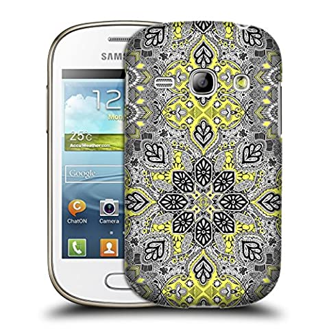 Official Micklyn Le Feuvre Sunshine Medallion Mandala Hard Back Case for Samsung Galaxy Fame S6810