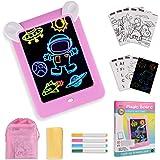 GOLDGE Tablero de Dibujo Mágico, Pizarra Magnética Conjunto Infantil Dibujo & Marco de Fotos Regalos Juguetes para Niños Boce