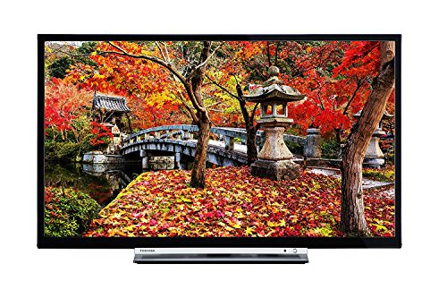 Toshiba 43l3753db 43-inch Smart Full Hd Led Tv With Built-in Freeview Play - Black (2017 Model)