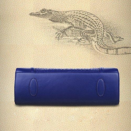 ANNE , Damen Tote-Tasche schwarz himmelblau Rosarot