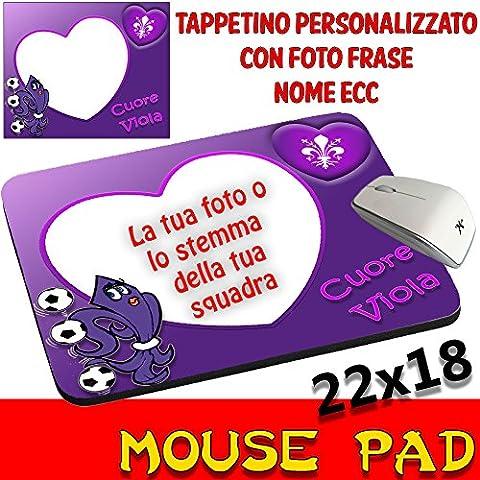 Mouse Pad Fiorentina fútbol Alfombrilla de ratón personalizada con fotografía, logo etc.