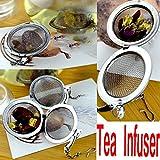 achievess (TM) Mode en maille boule à thé en acier inoxydable thé Filtre cuillère à accrocher Chaîne