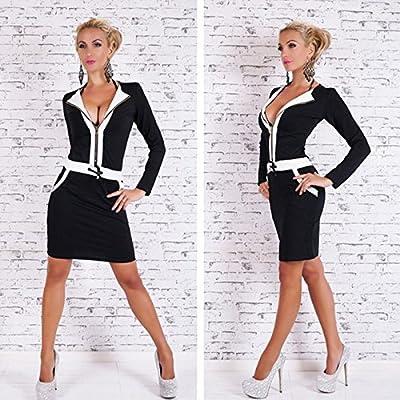 VU*LK Damenbekleidung Kleider Langarm