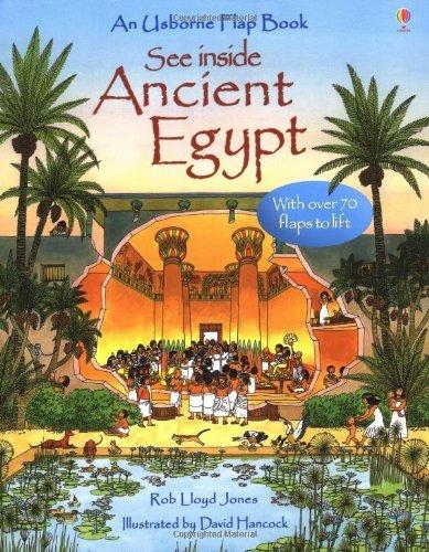 By Rob Lloyd Jones - Egypt (See Inside) (Usborne See Inside)