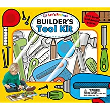 LETS PRETEND BUILDERS TOOL KIT (My Press-out Treasure Hunt)