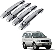 Auto Pearl - Chrome Door Handle Latch Cover - Safari Décor