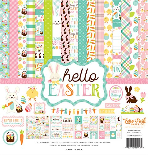 Echo Park Paper Company Hello Ostern Sammelset