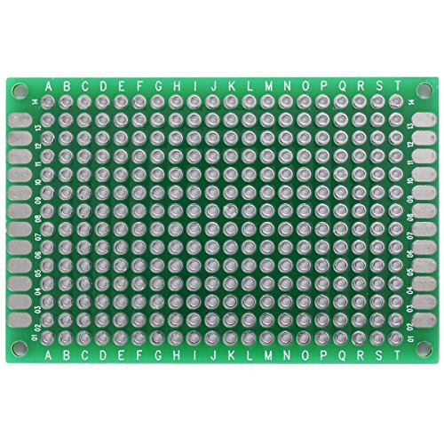 XCSOURCE® 10PCS 4x6CM Double Side Prototype PCB Universal Printed Circuit Board TE254 Test