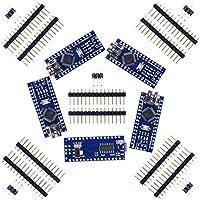 SODIAL 5set Nano V3.0 ATmega328P 5V 16M Modulo de placa micro-controlador para Arduino
