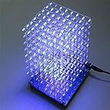 3D Light 8x8x8 LED Cube Blu Ray DIY Kit