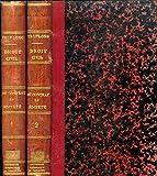 le droit civil explique du contrat de societe civile et commerciale ou commentaire du titre ix du livre iii du code civil 2 tomes