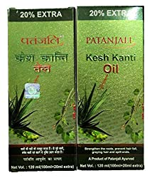 Patanjali Kesh Kanti Oil, 120ml (Pack of 2)