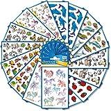 AVERY Zweckform Sticker 522 Stück Set Tiere (Aufkleber, Kindersticker, Einhorn, Schildkröten, Marienkäfer, Elefant, Maus, Bär, Giraffe, Pferde, Delfine, Fische, Kindergeburtstag, Mitgebsel) Art. 59992