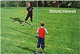 Tennisspiel Standtennis Kinder Garten Spiel an Metallstange