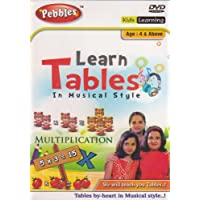 Pebbles - Learn Tables In Musical Style (DVD)