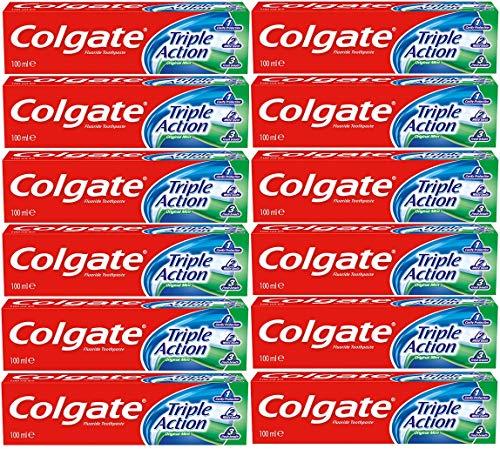 Colgate Triple action original mint pasta dientes