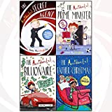 tom mclaughlin collection 4 books set (The Accidental Secret Agent, The Accidental Prime Minister, The Accidental Billionaire, The Accidental Father Christmas)