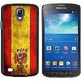 Graphic4You Español Bandera España Vintage Grunge Diseño Carcasa Funda Rigida para Samsung Galaxy S4 Active