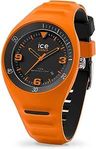 Ice-Watch - P. Leclercq Neon Orange - Montre Orange pour Homme avec Bracelet en Silicone - 017601 (Medium)