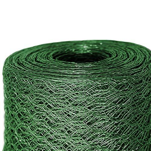 Mammut® Drahtzaun/Sechskant-Geflecht | Maschenweite 25 mm | Gartenzaun | Länge und Höhe wählbar