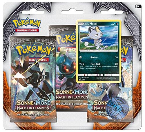 Pokémon Pokemon 25956 Company International 25956-PKM SM03 3-Pack Blister DE