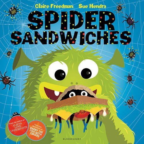 Spider Sandwiches par Claire Freedman