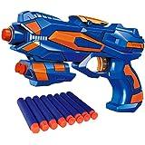 Funkey™ Foam Blaster Gun Toy, Safe and Long Range, 8 Soft Foam Bullets Perfect Guns for Boys Kids