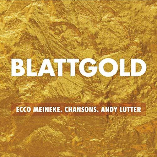 Blattgold-Chansons Ecco Berlin