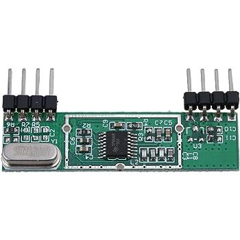 BQLZR Dc3 V-5.5 V Vert Superheterodyne Rxb6 433 MHz RF sans fil module récepteur