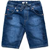 Carrera Jeans - Bermudas 730 para niño, Tejido Extensible, Ajuste Regular, Cintura Normal